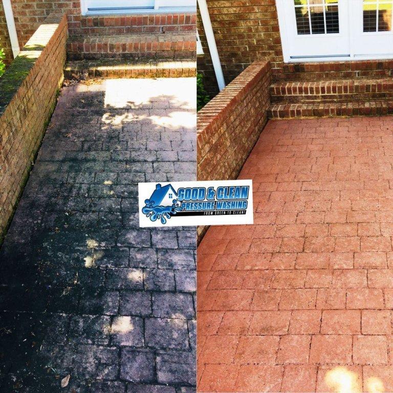 Brick-walkway-and-stairs