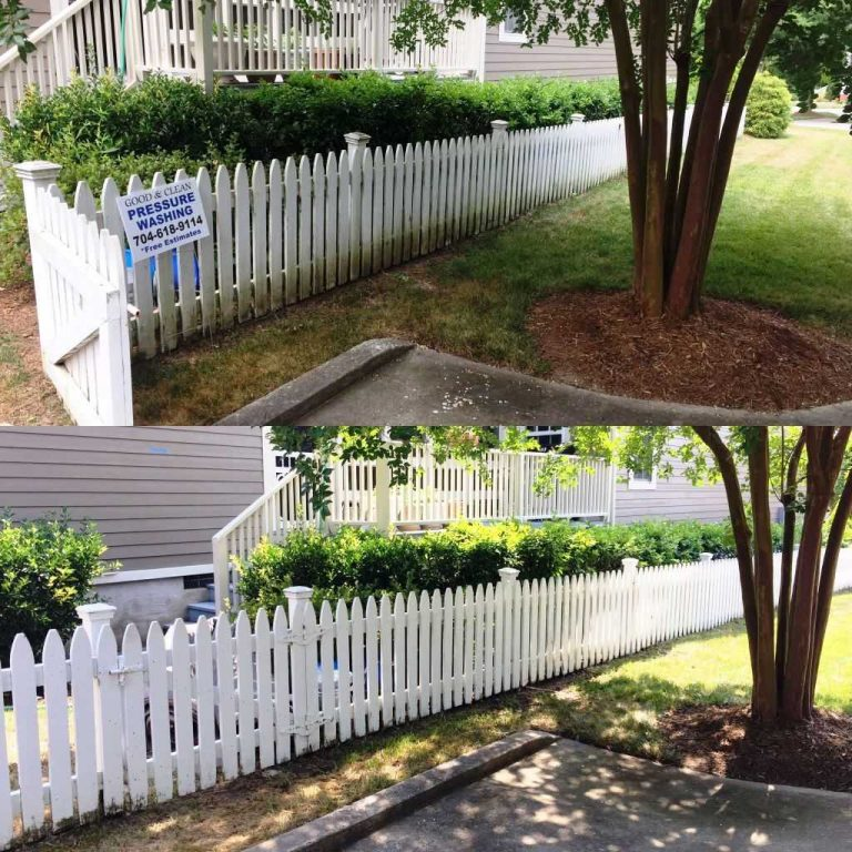 Clean-White-Picket-Fence