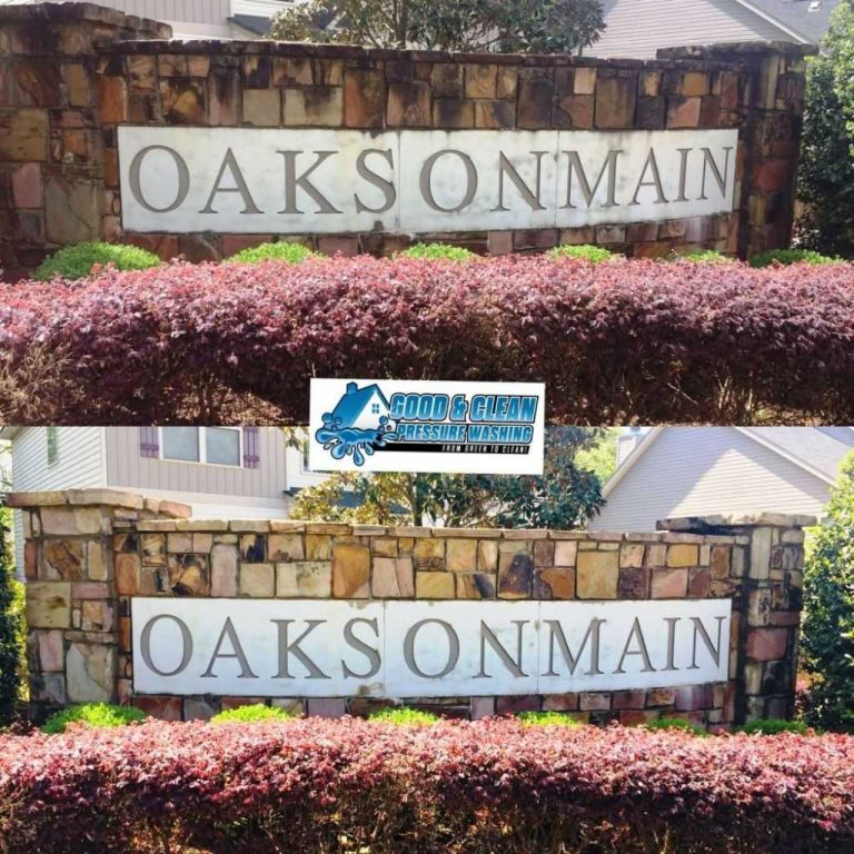 Entrance-Sign-Cleaning