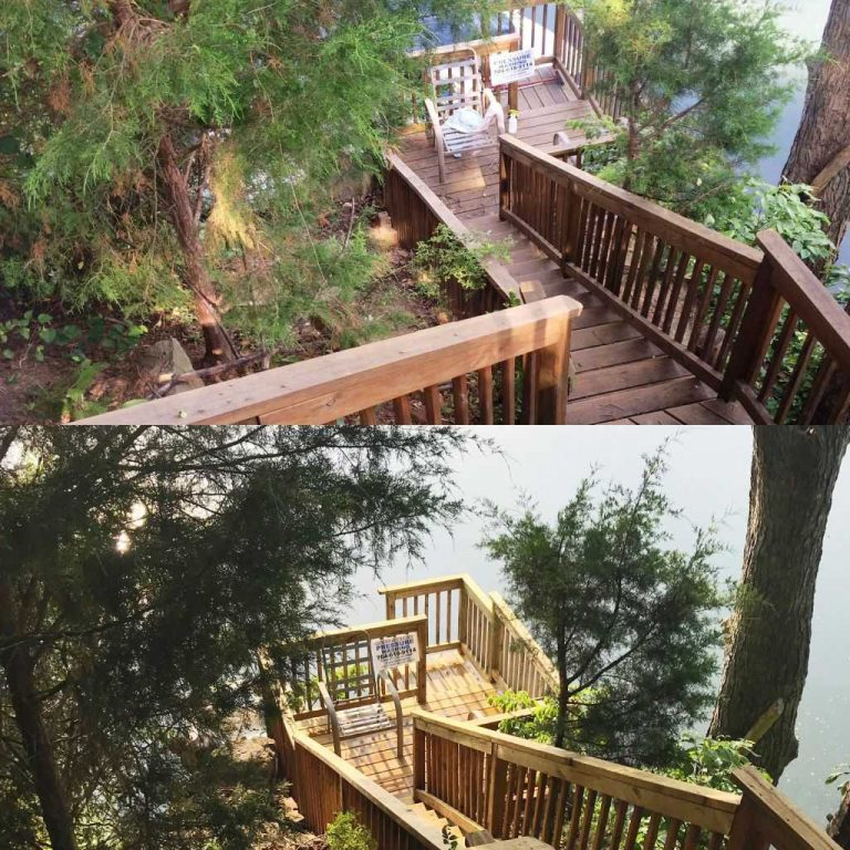 Stairs-to-Lake-Norman