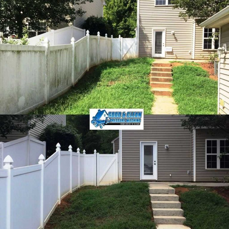 White-Vinyl-Fence-Concrete-Steps